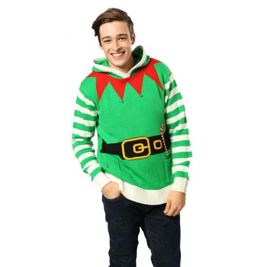 Foute Kersttrui Dames Goedkoop.Kerst Outfit Foute Elfen Trui Goedkoop Speelgoed Bij De
